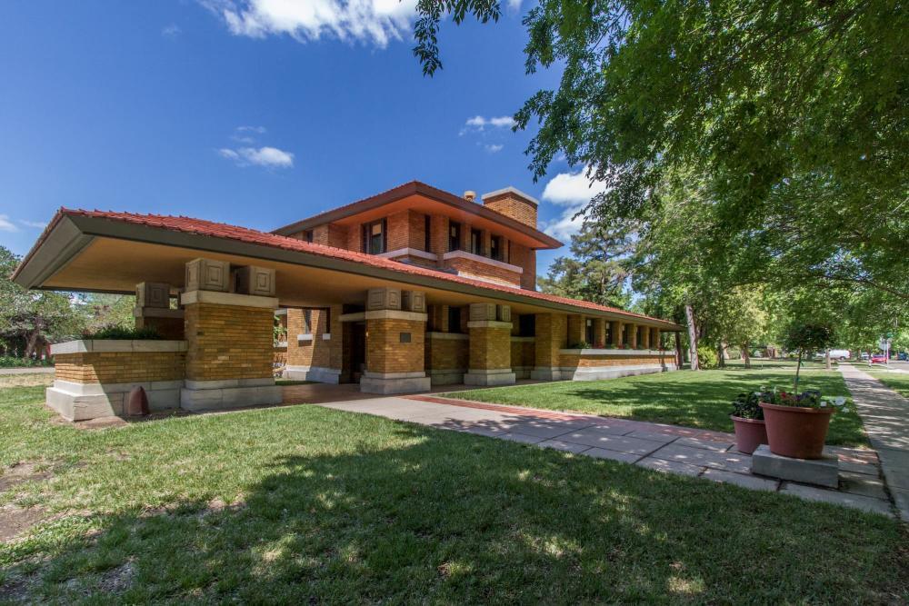 Frank Lloyd Wright's Allen House in Wichita