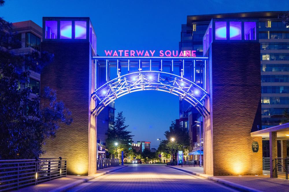 Waterway Square Bridge