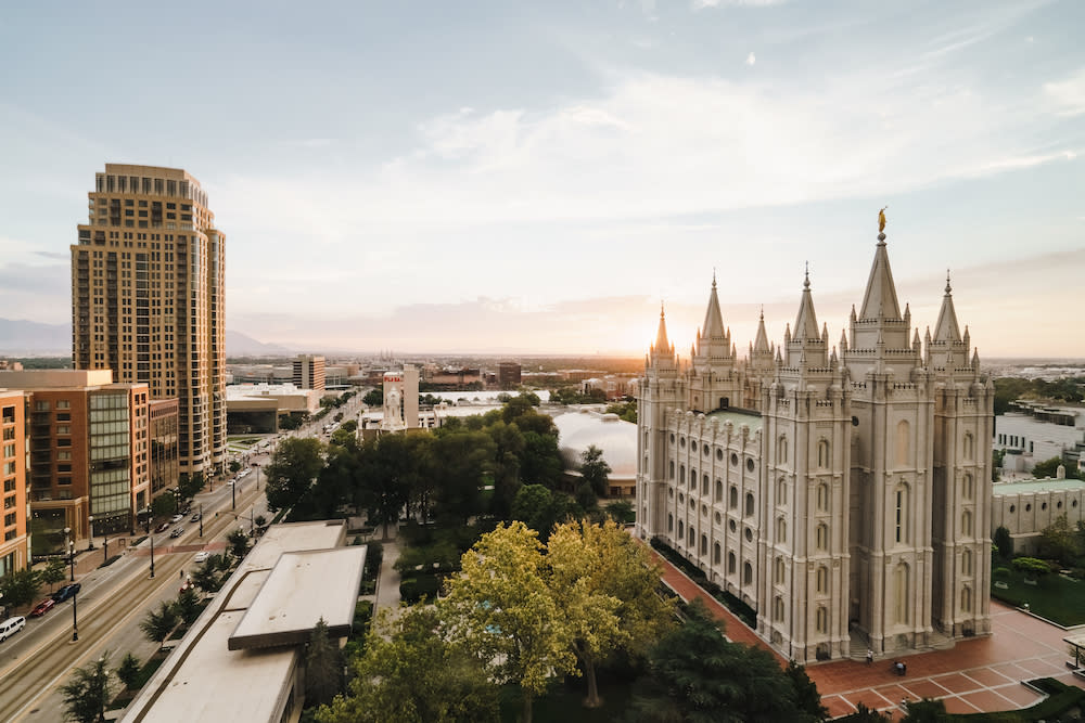 Salt Lake's Temple Square