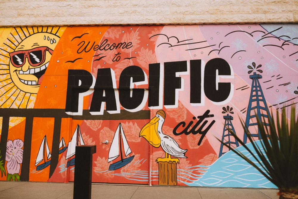 Welcome to Pacific City Mural