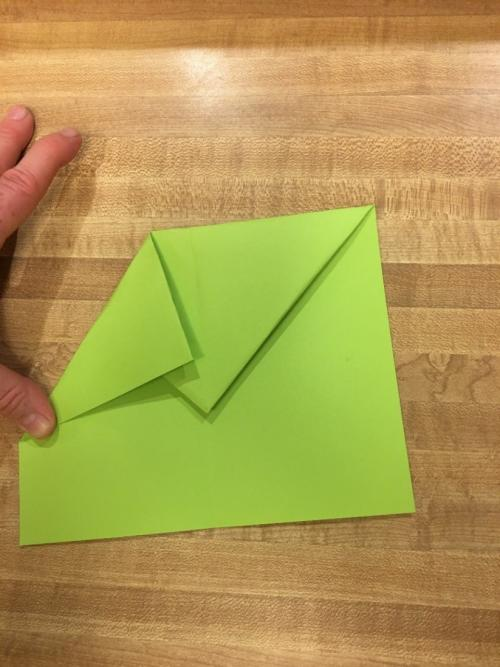 Paper Airplane Step 5A