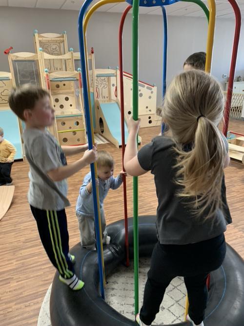 Kids playing at KidWise