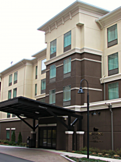 Homewood Suites Entrance