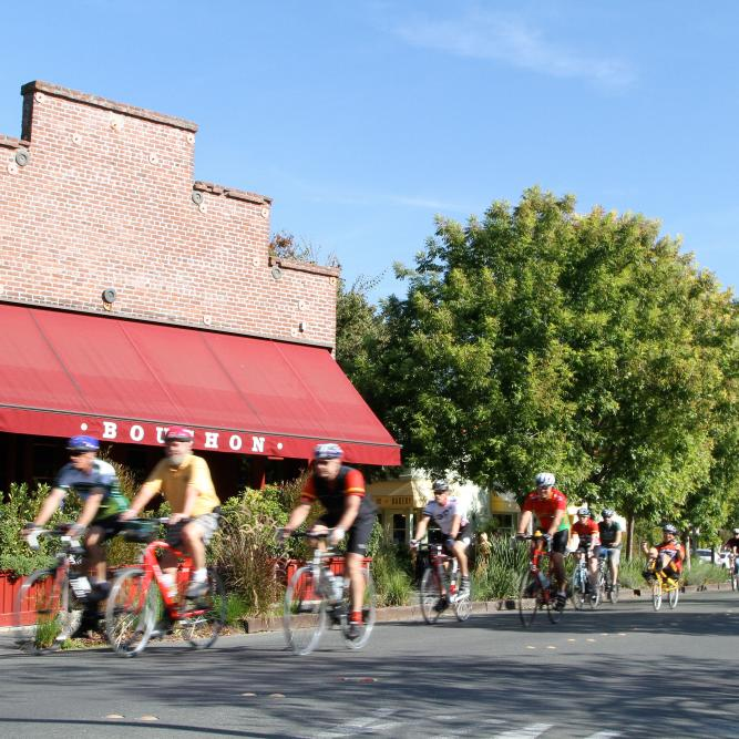 Yountville Biking