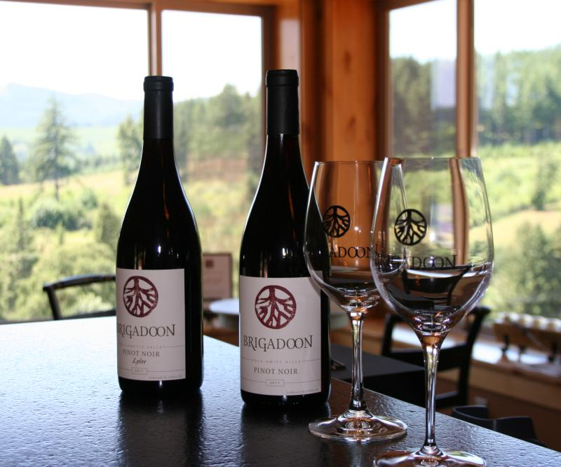 Brigadoon tasting room by Taj Morgan