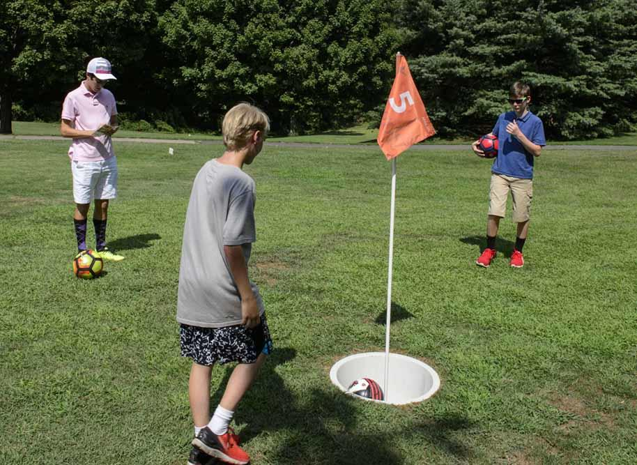 Footgolf at Pinecrest Golf Course