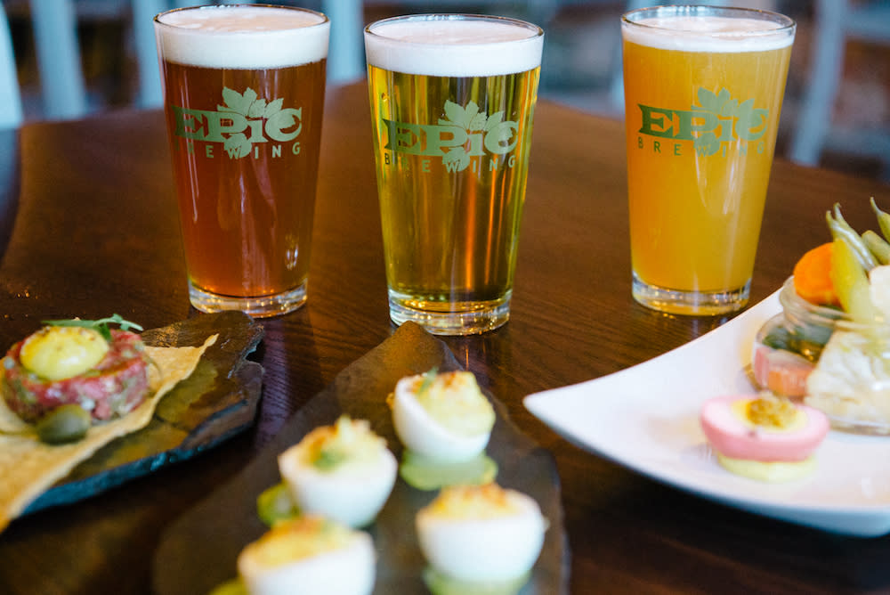 Drinks and Bites at Epic Brewing