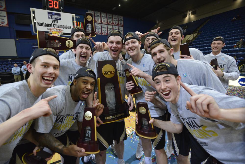 NCAA - Division III Men's Basketball Championship 2018 Winners