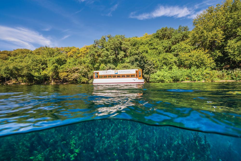 Glass Bottom Boat Tour in San Marcos Texas