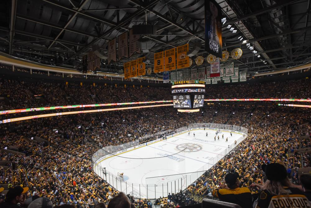 Bruins at TD Garden