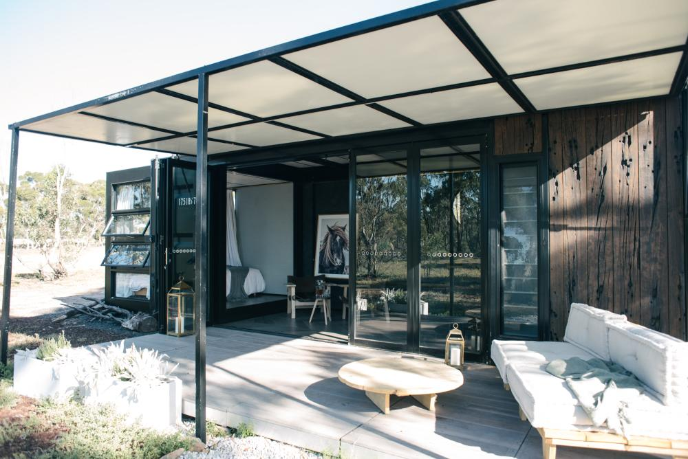 Escape to Victoria's pop up shipping container hotels