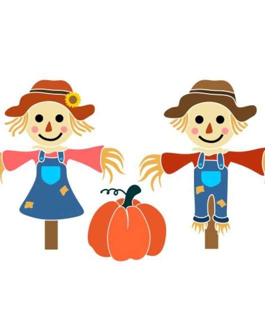 Scarecrows at the Polk