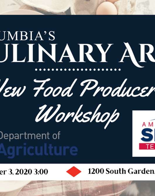 New Food Producers Workshop
