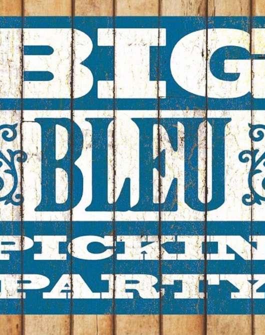 Big Bleu Pickin' Party