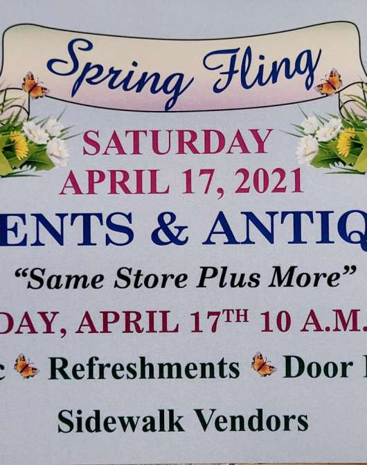 Spring Fling at Accents & Antiques