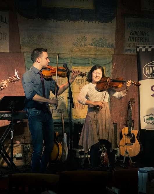 Live at Puckett's - The Jolly String Quartet