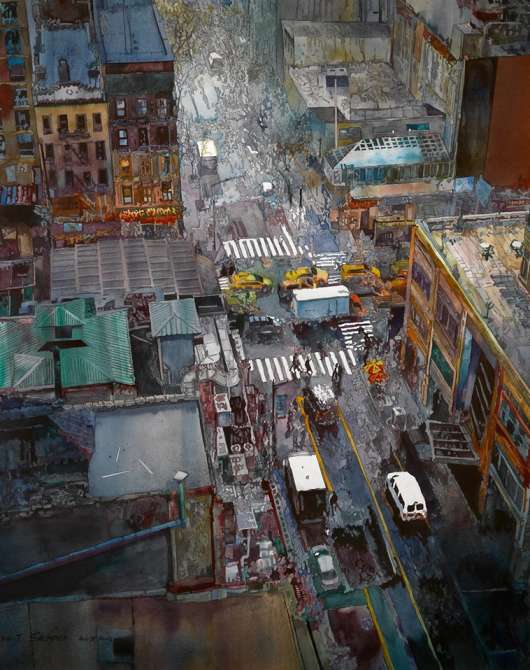 Pryor Art Gallery - American Watercolor Society Artists' Exhibit