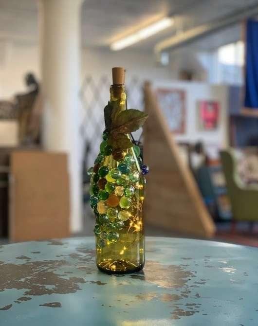 DIY Vino Bottle Lamp Workshop