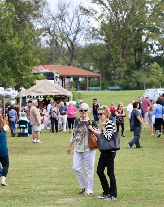 Meriwether Lewis Arts and Crafts Fair