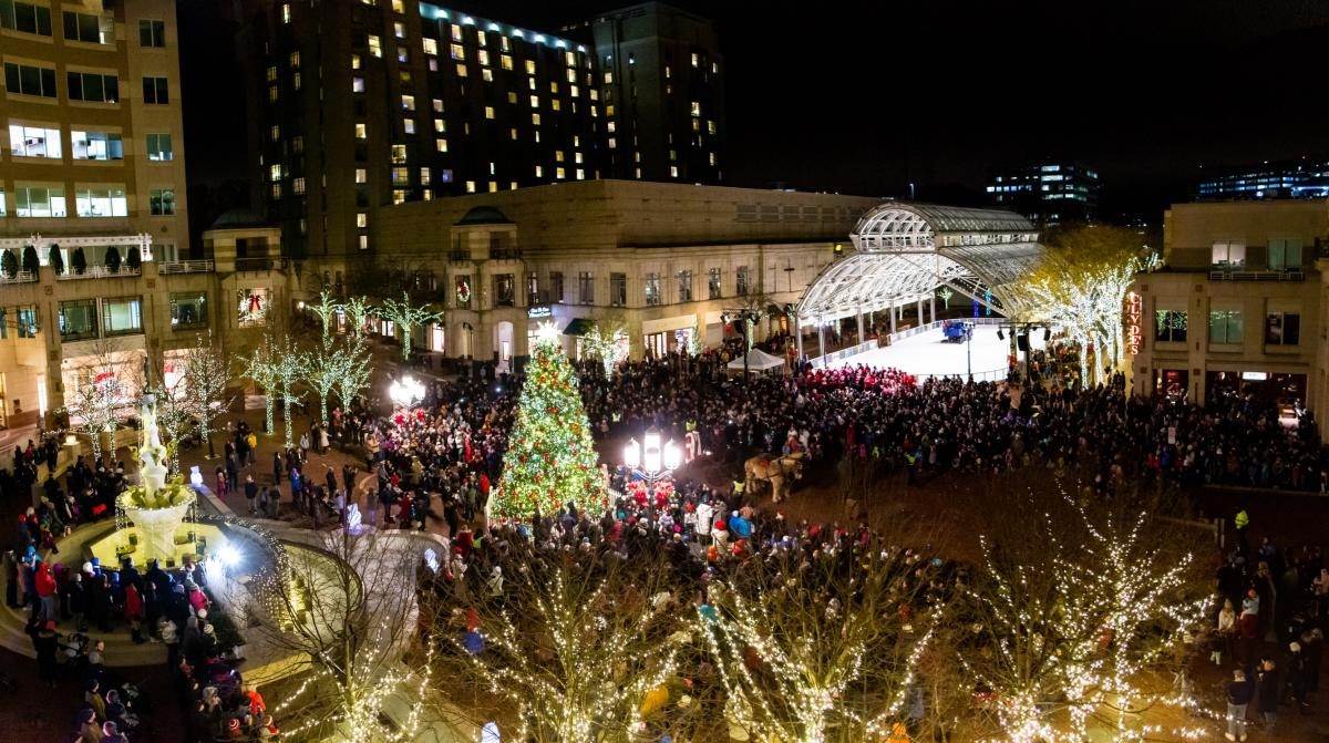 Reston Town Center - Holidays are Here!
