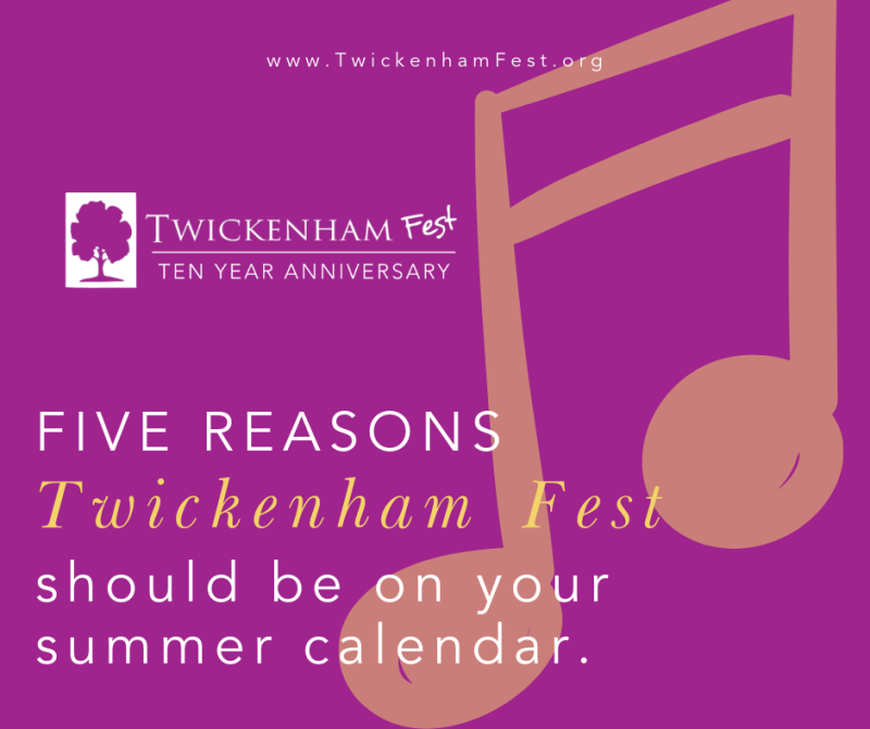 Twickenham Fest Graphic 2019