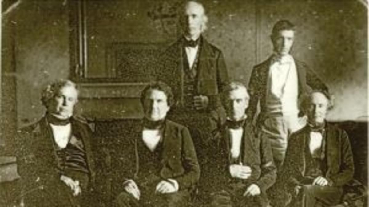 ​Polk and His Cabinet courtesy of Polk Memorial Association