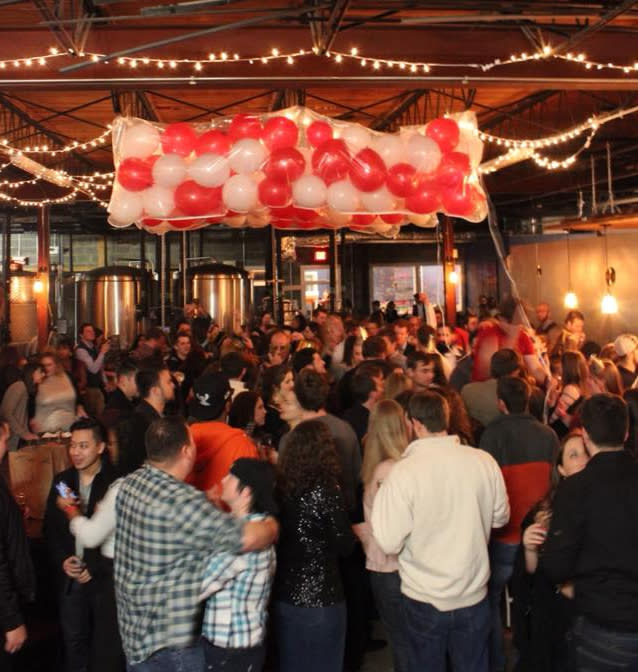 Buskey Cider New Year's Eve celebration