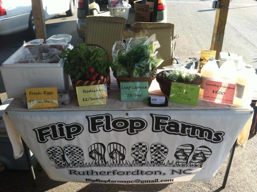 Fresh Produce from Flip Flop Farms