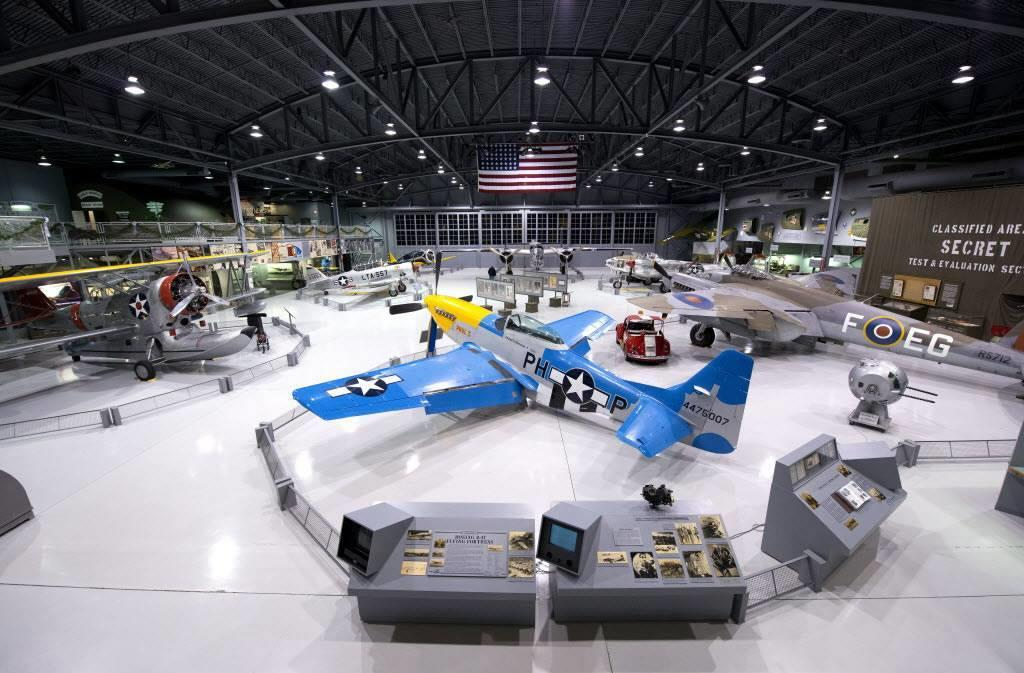 Airplanes at the EAA Aviation Museum