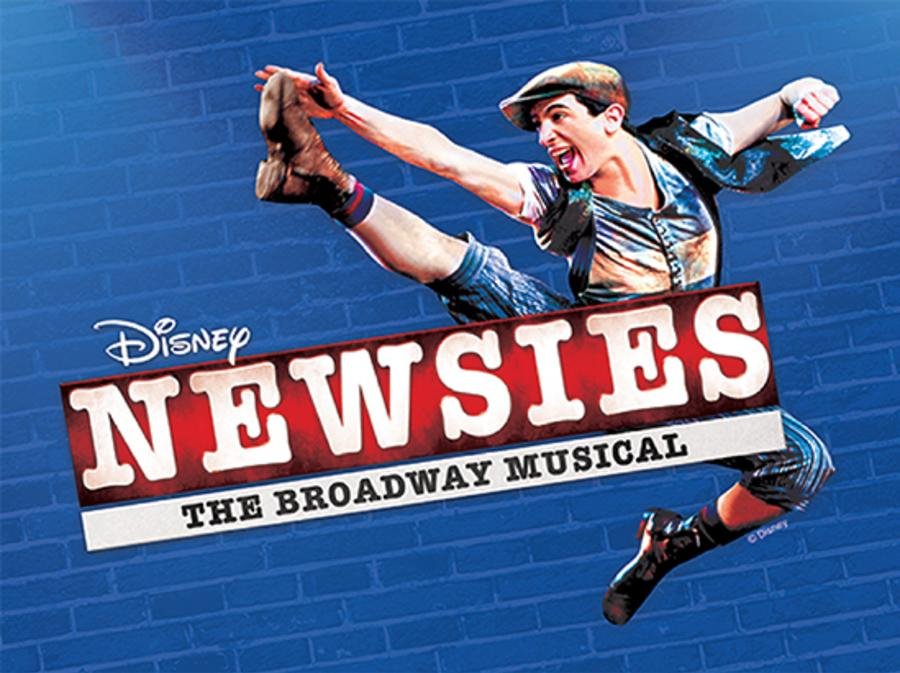 Newsies musical in Brandon