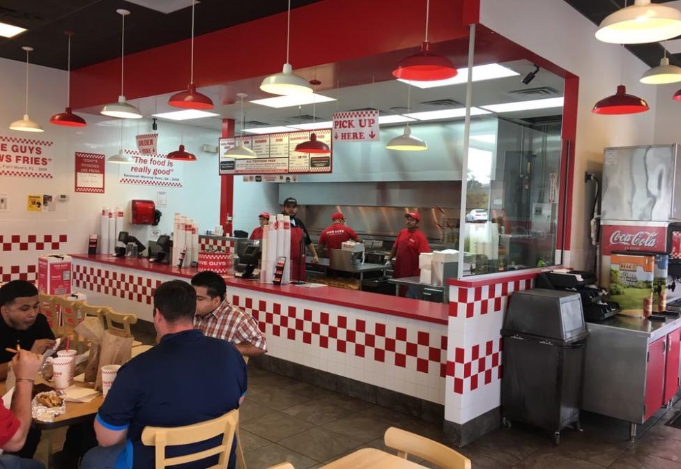Five Guys Burger & Fries