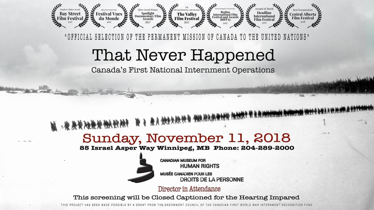 CMHR-That Never Happened
