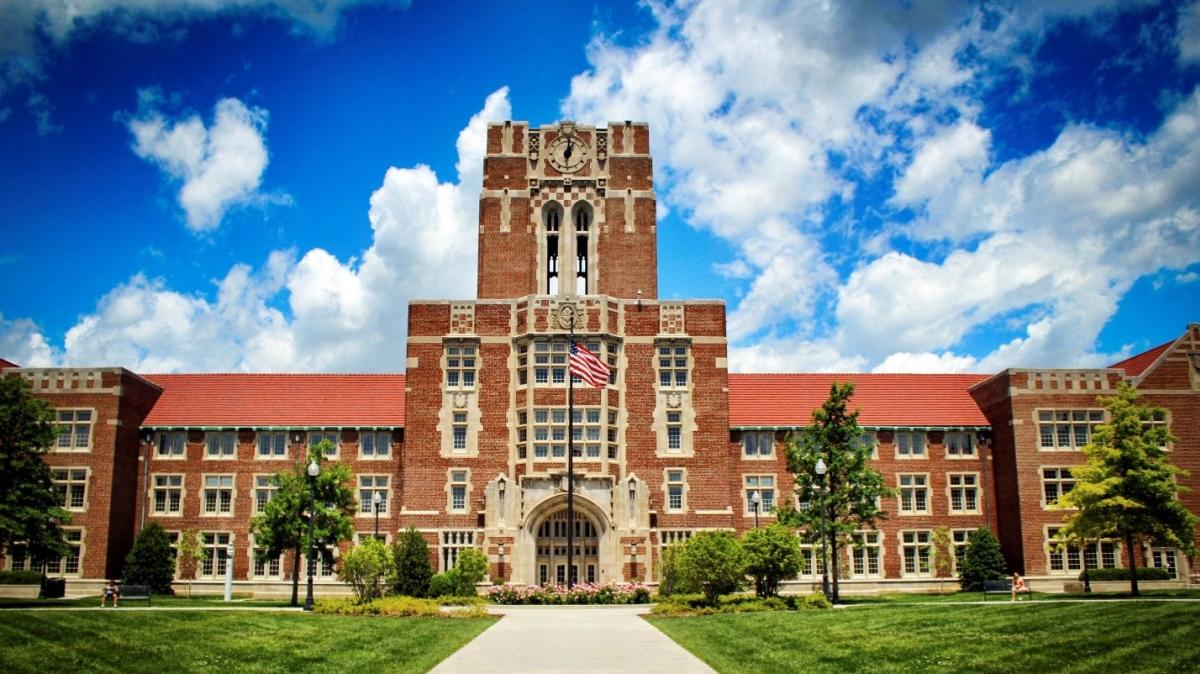 Historic Ayres Hall on the University of Tennessee Knoxville Campus