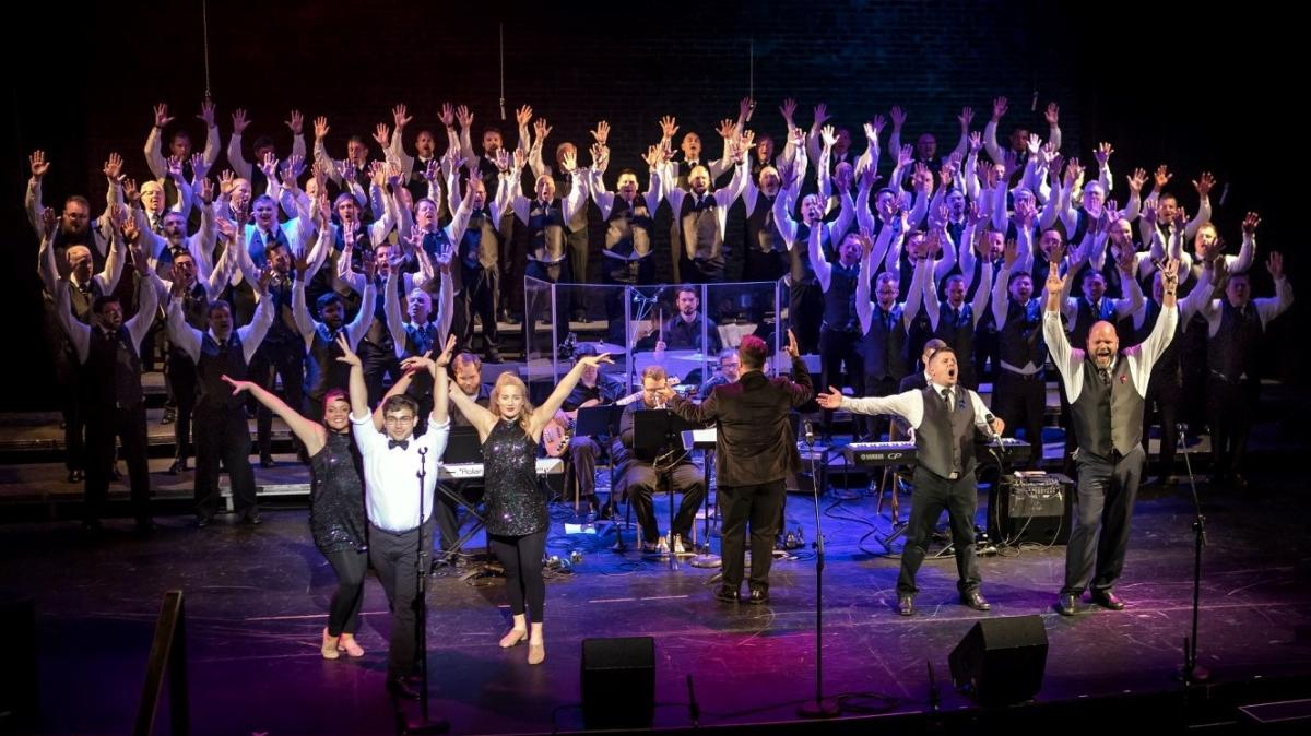 Knoxville Gay Men's Chorus – Broadway on Gay Street Concert courtesy of Steve Soaringoak