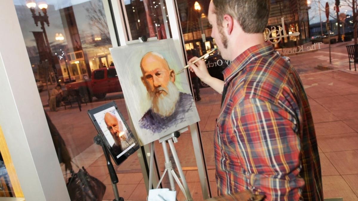 Live Painting at The Emporium by Eric Thompson