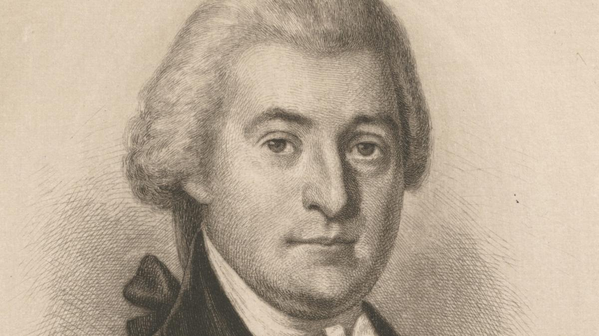 Portrait of William Blount from the Collection of New York Public Library