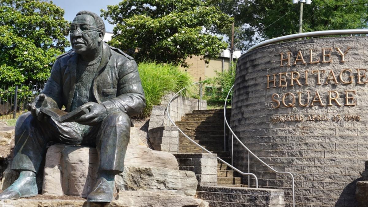 Alex Haley Statue