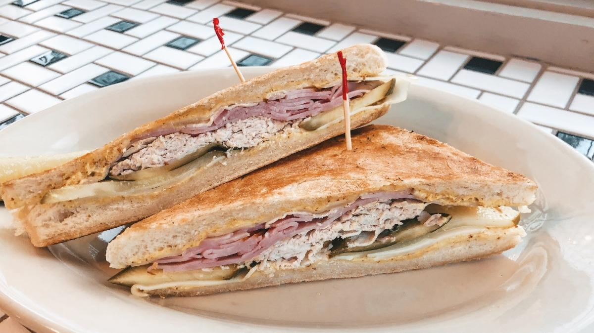 Cuban Sandwich at Frussie's Deli in Knoxville