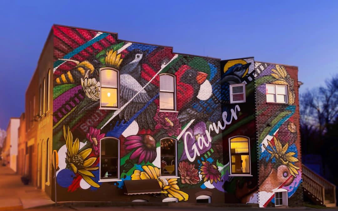 Downtown Garner Mural