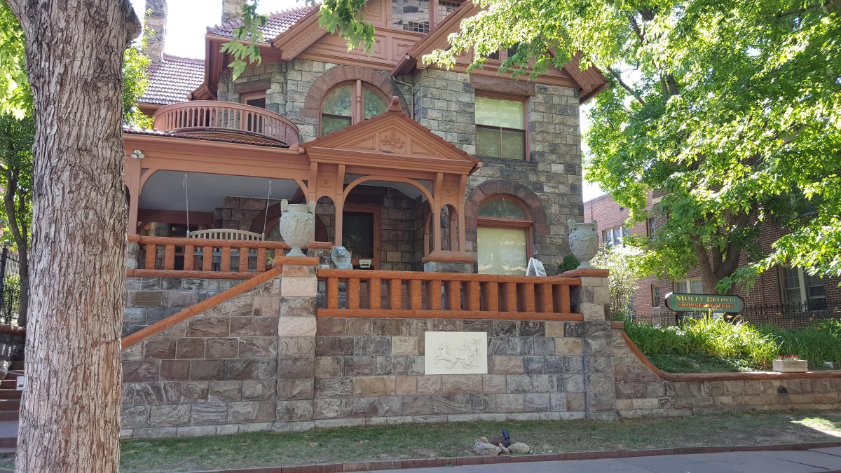 Molly Brown House exterior