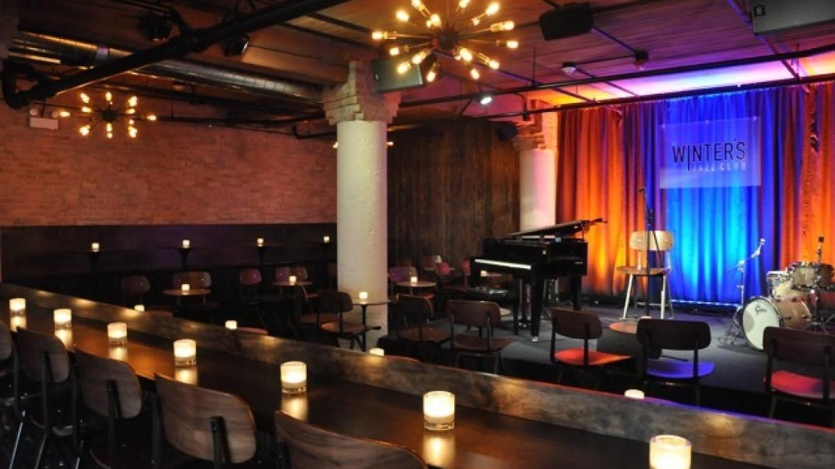 Winter's Jazz Club Interior