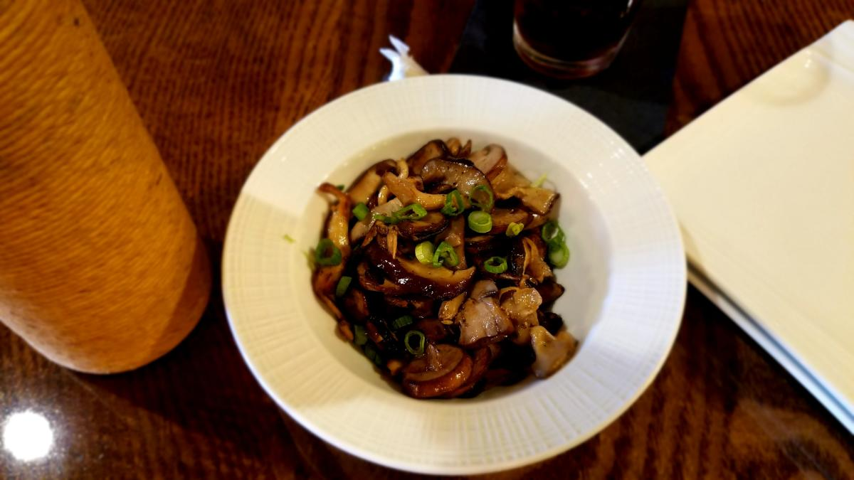 Sauteed Local Mushrooms at 21 North
