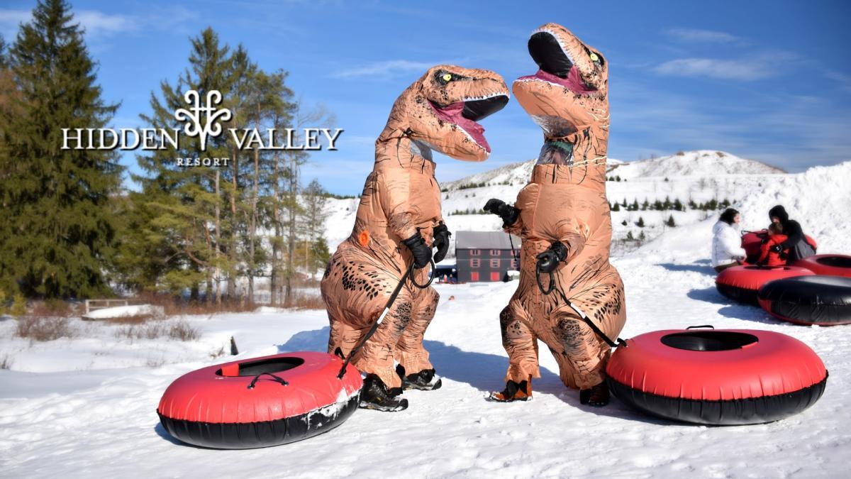 Hidden Valley Snow Tubing