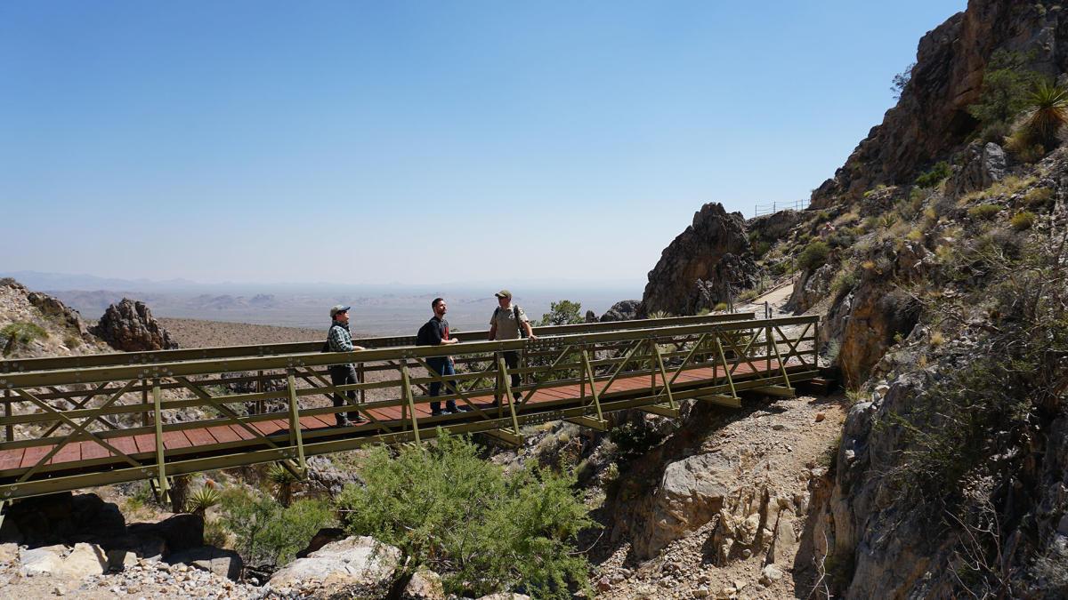 mitchell caverns bridge