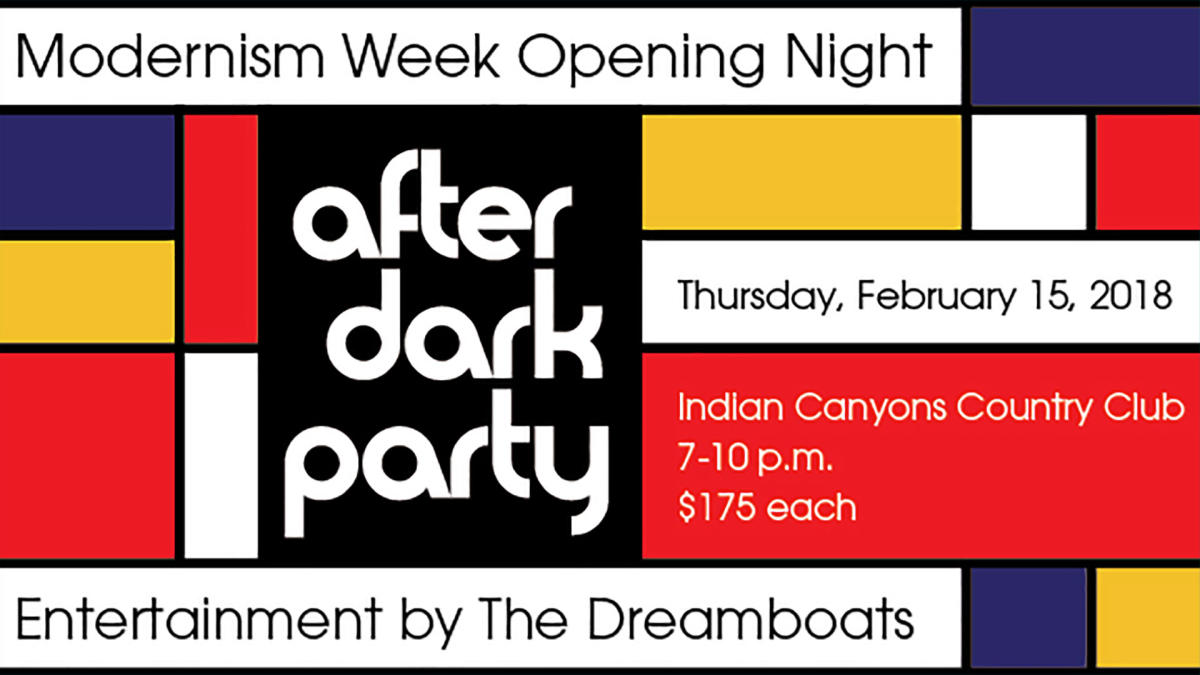 Modernism Week Opening Party