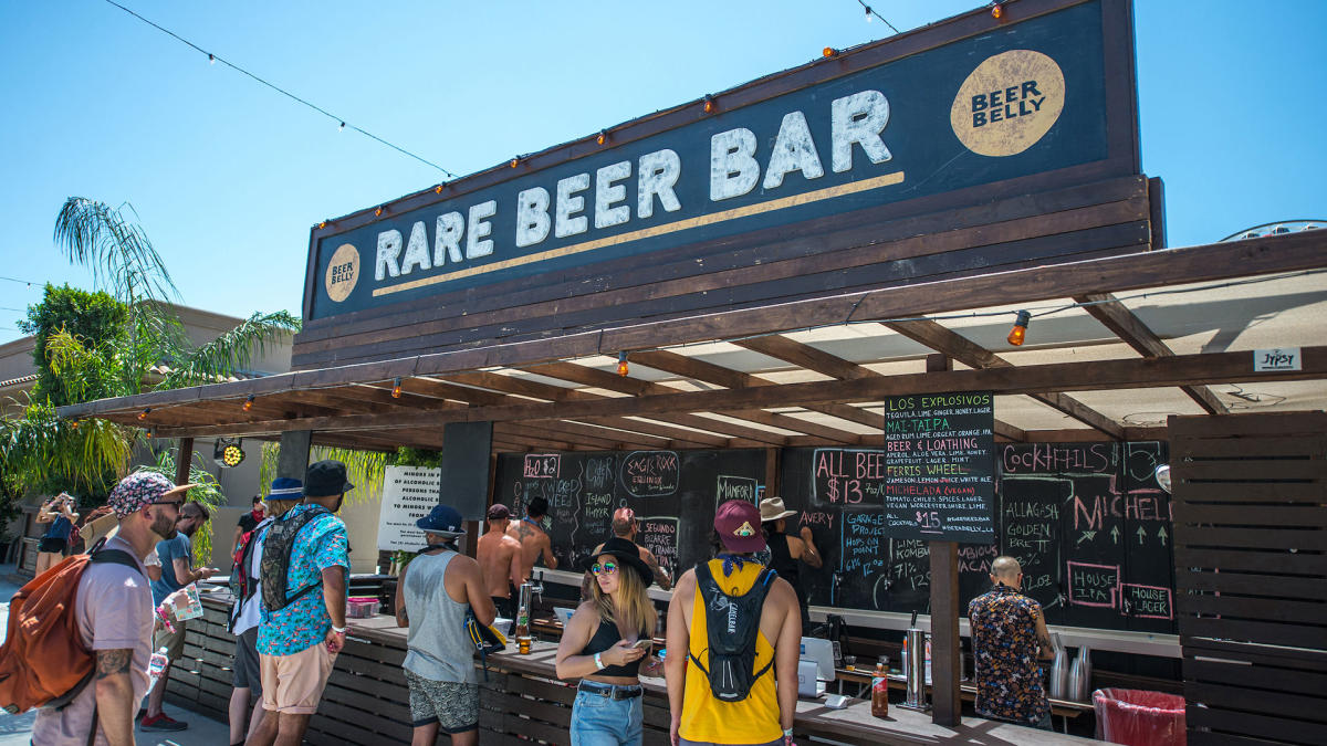 Rare Beer Bar at Coachella