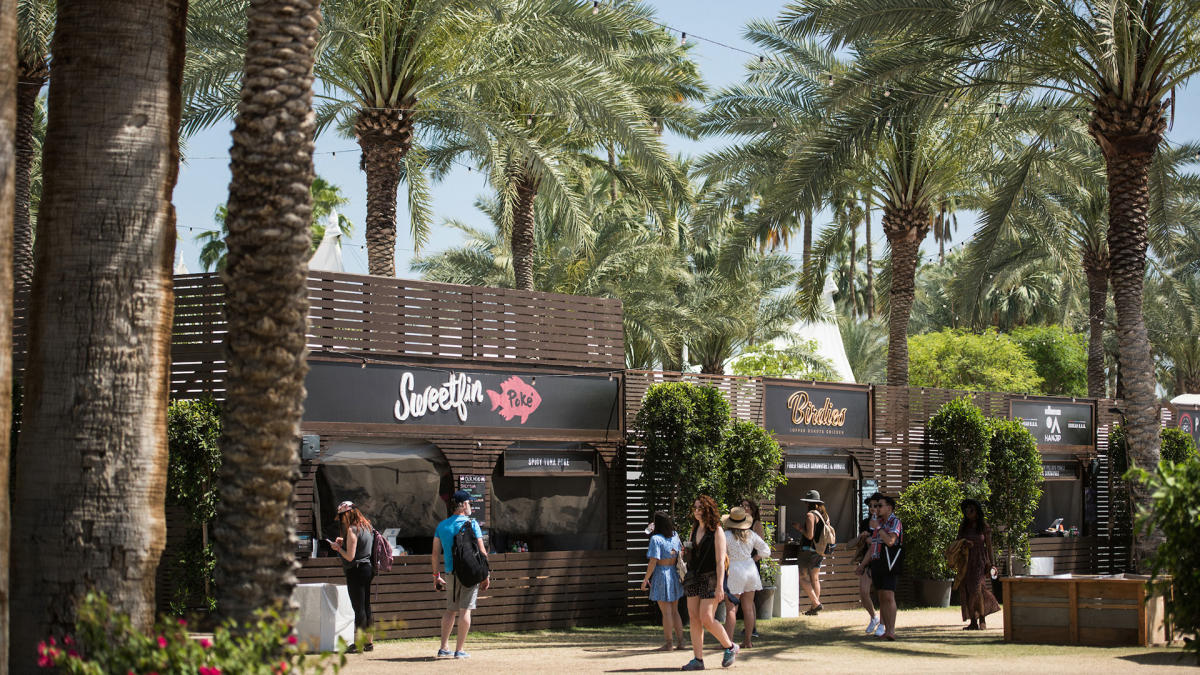 Coachella Food Stands