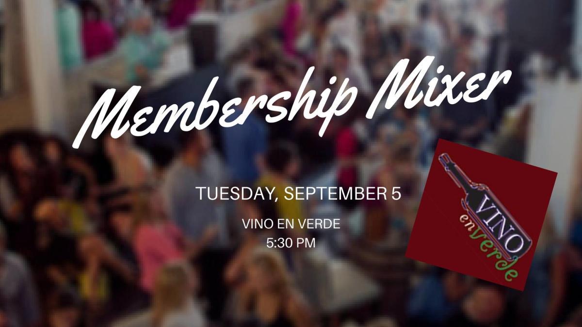 Membership Mixer 09-05-17