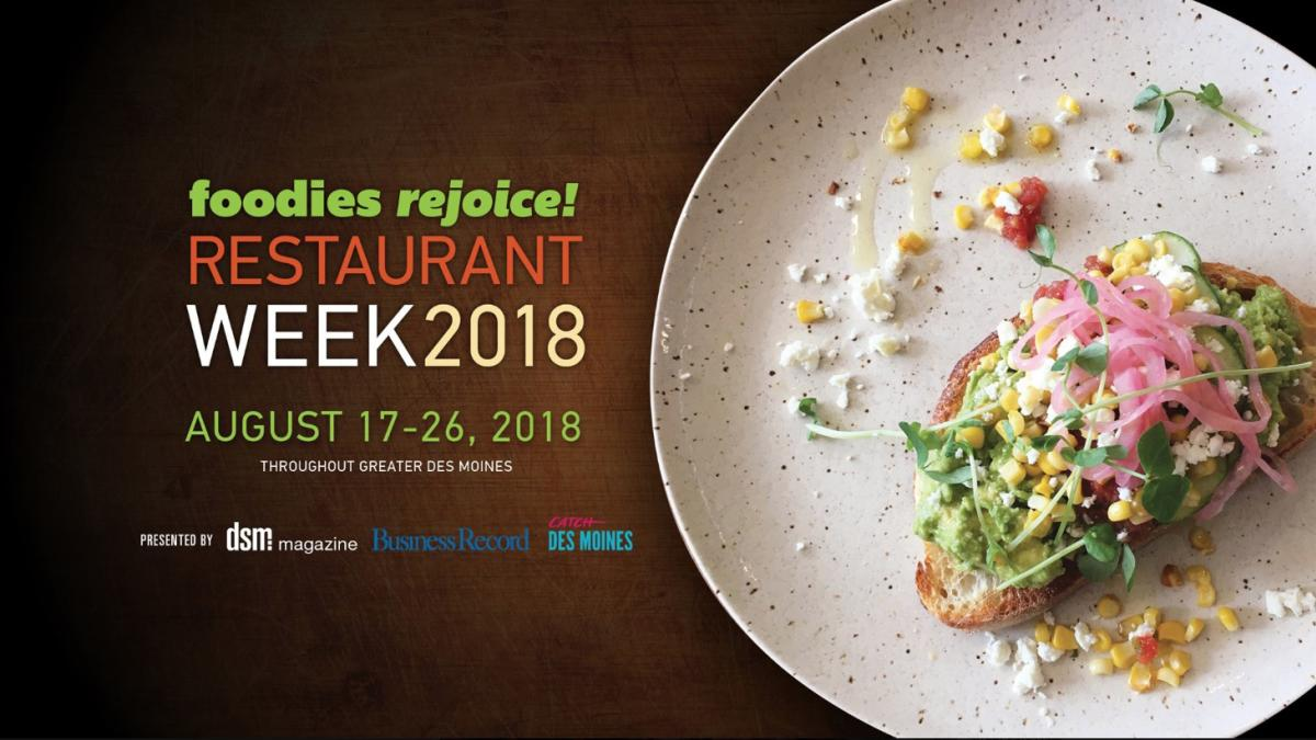 Des Moines Restaurant Week