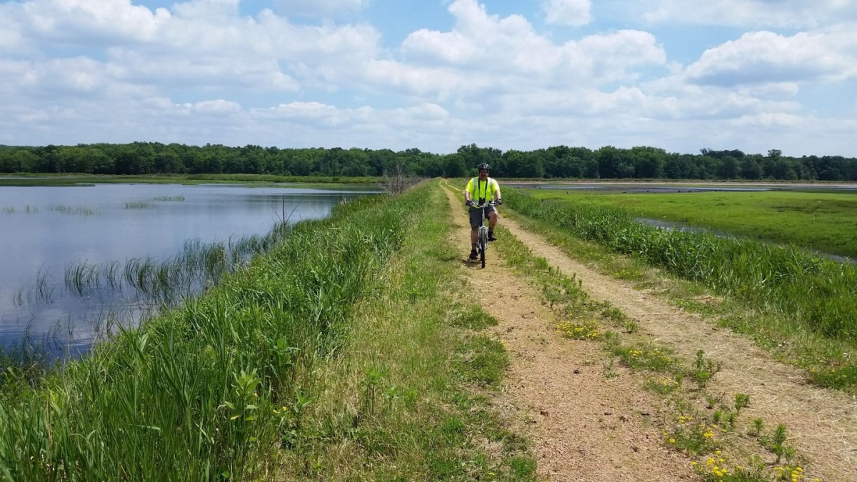 George Mead Wildlife Biker